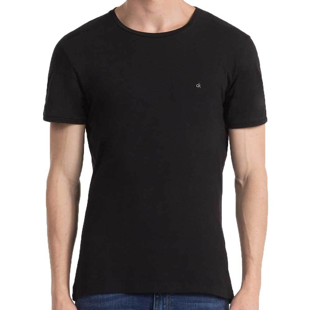 Calvin Klein Jeans Bron Basic T Shirt - CK Black - so-ldn