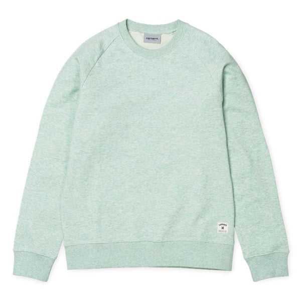 Carhartt Holbrook Sweatshirt - Mojito Green Heather - so-ldn