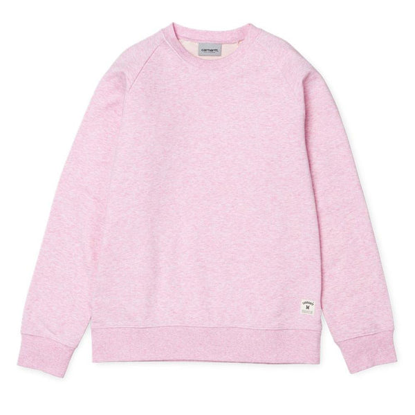 Carhartt Holbrook Sweatshirt - Vegas Pink Heather - so-ldn