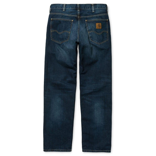 Carhartt Marlow Pant Jean - Blue Natural Dark Denim Wash - so-ldn
