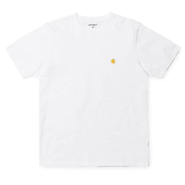 Carhartt WIP S/S Chase T-Shirt - White - so-ldn