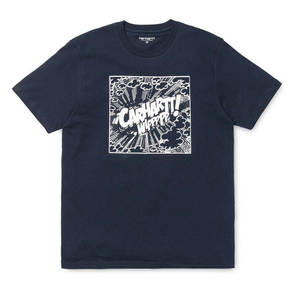 Carhartt S/S Cosmic T-Shirt - Navy / White - so-ldn