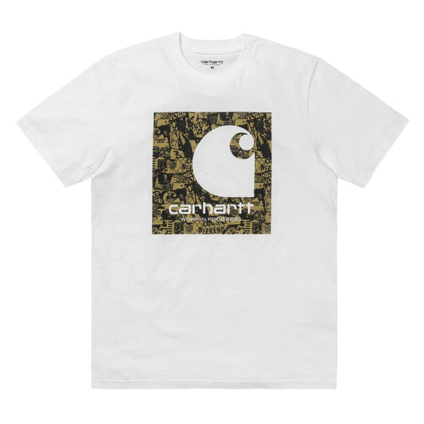 Carhartt WIP C Collage T-Shirt - White - so-ldn