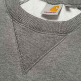 Carhartt WIP Chase Sweatshirt Jumper - Dark Grey Heather - so-ldn