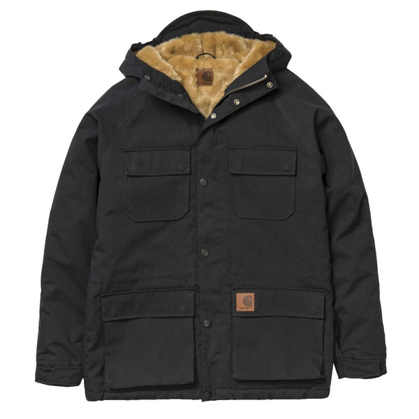 Carhartt WIP Mentley Jacket - Black - so-ldn