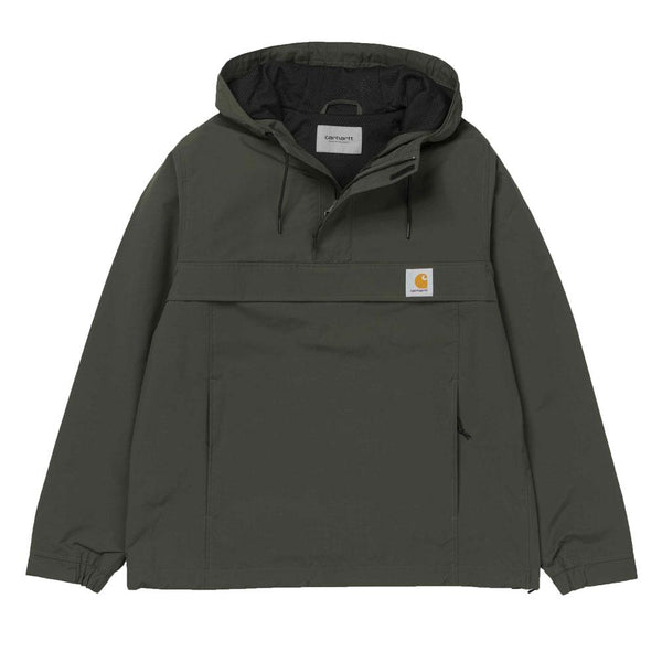 Carhartt WIP Nimbus Mesh-Lined Pullover Jacket - Cypress Green - so-ldn