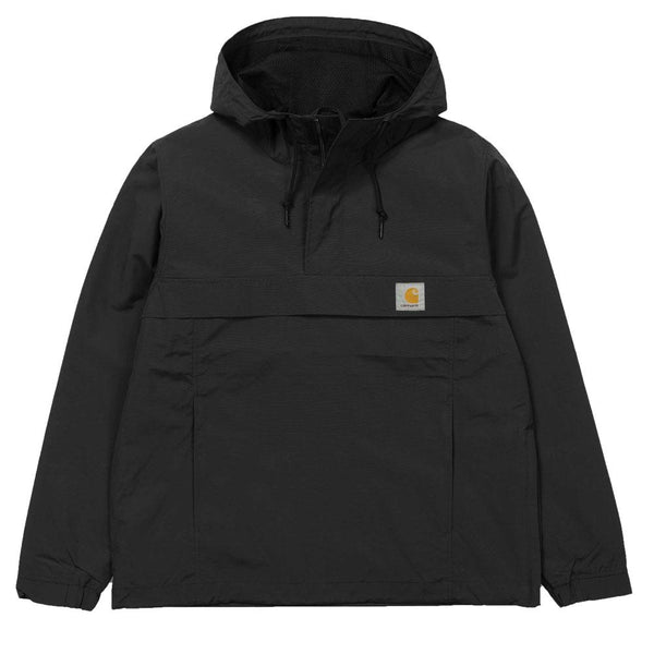Carhartt WIP Nimbus Mesh-Lined Pullover Jacket - Black - so-ldn