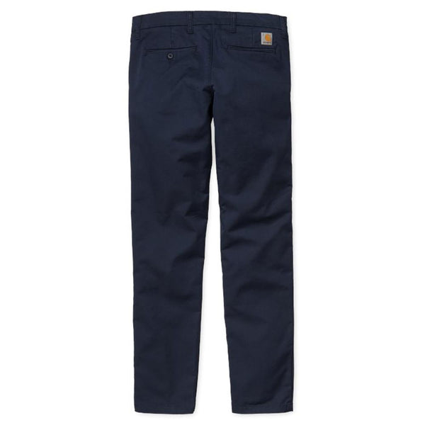 Carhartt WIP Sid Pant Chinos - Navy - so-ldn