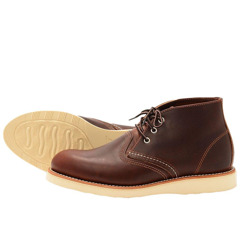 Red Wing Chukka Boots 3141 - Brown - so-ldn