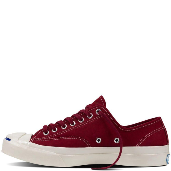024c77bf8db99f Converse Jack Purcell Signature OX Nubuck - Red Block 153589c