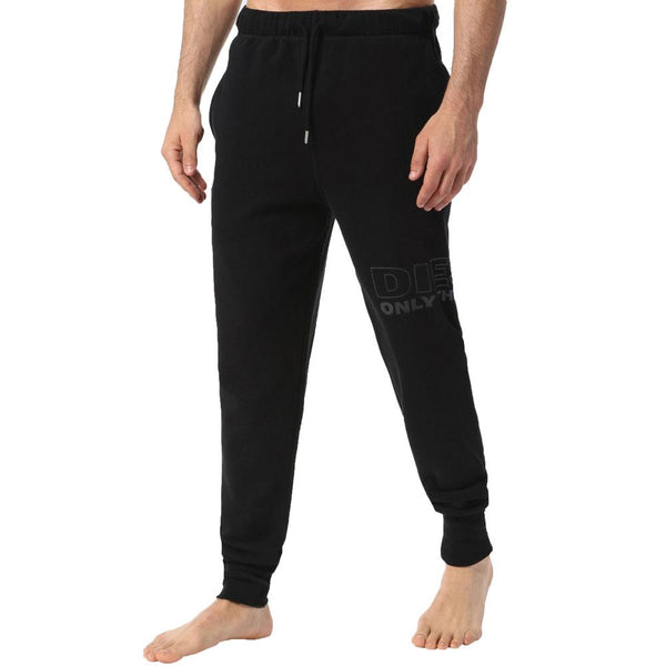 Diesel Peter Leg logo Jogging Bottoms - Black - so-ldn