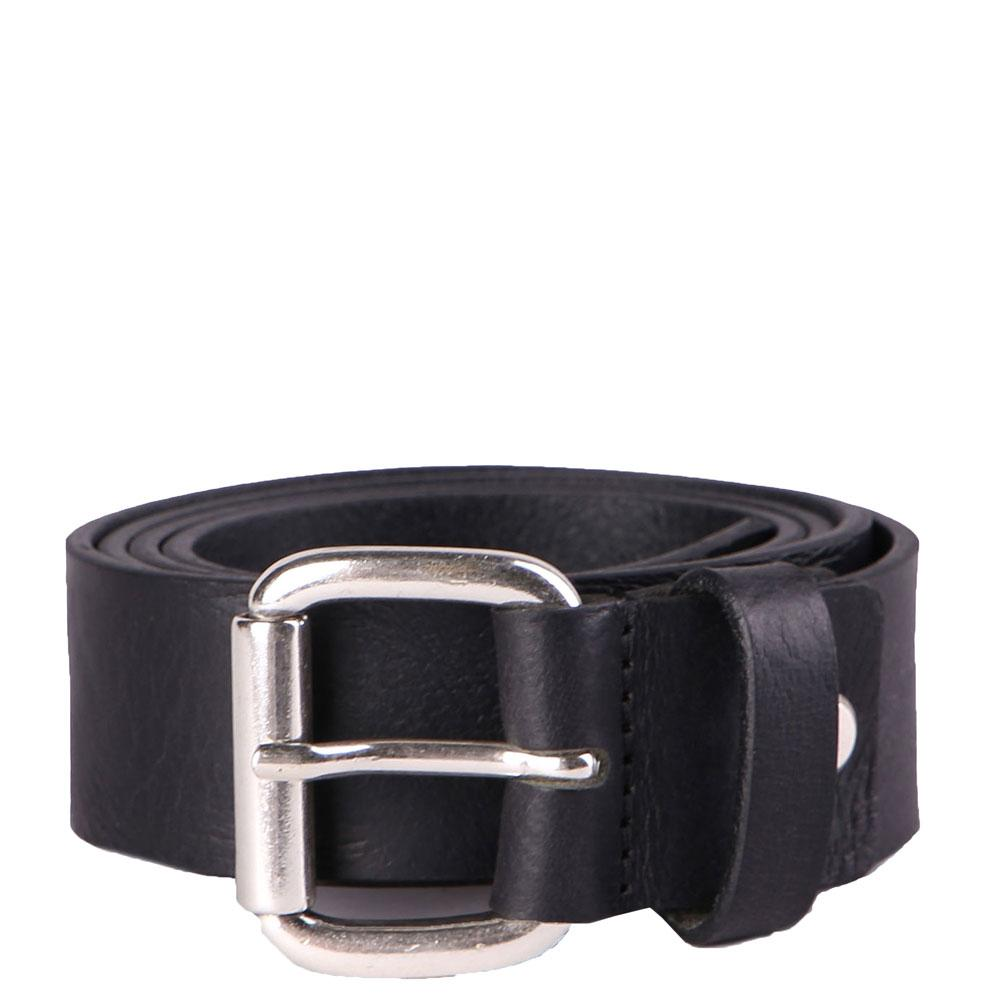 Diesel B-PROFILES - Leather Belt - Black - so-ldn