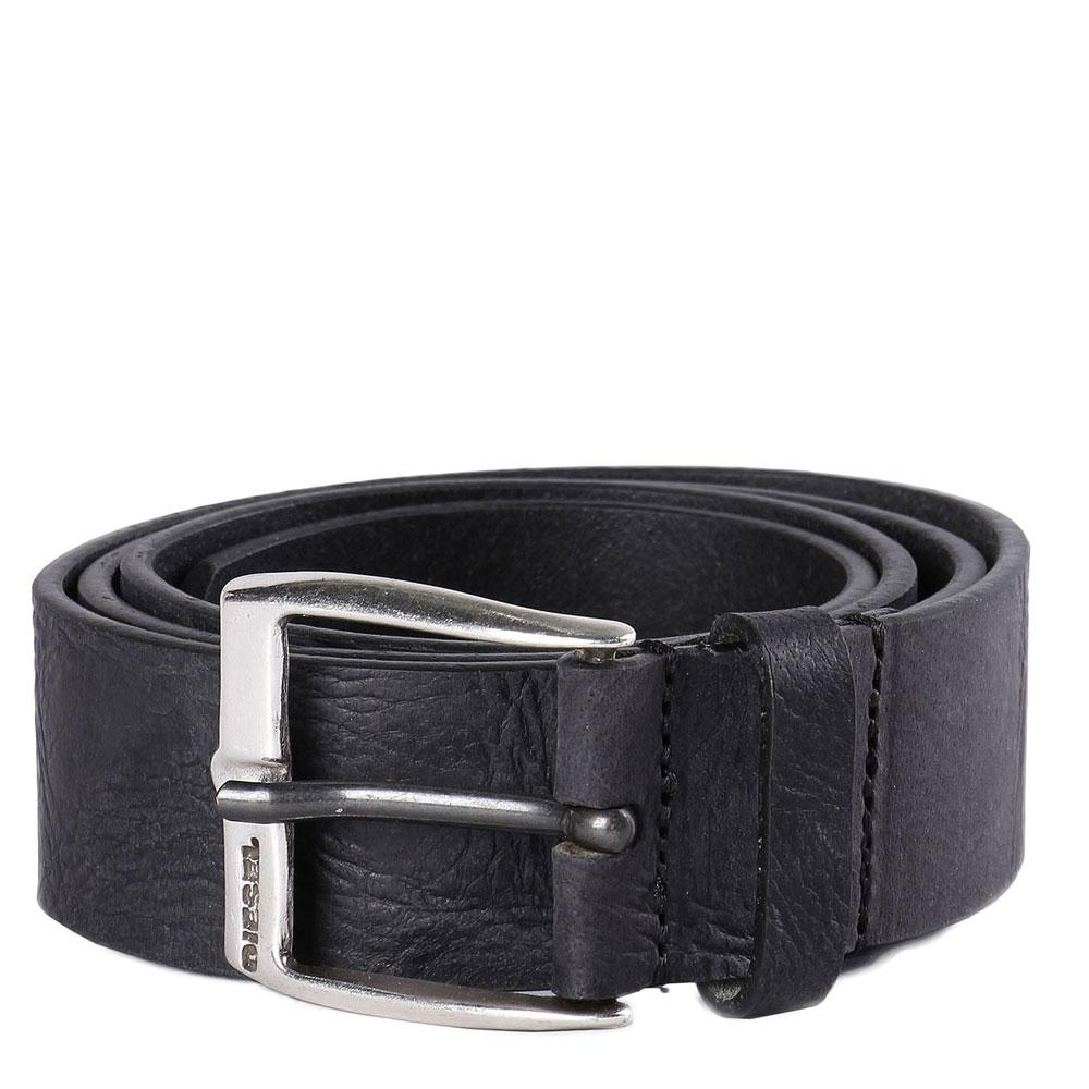 Diesel B-Whyz leather Mens belt - Black - so-ldn