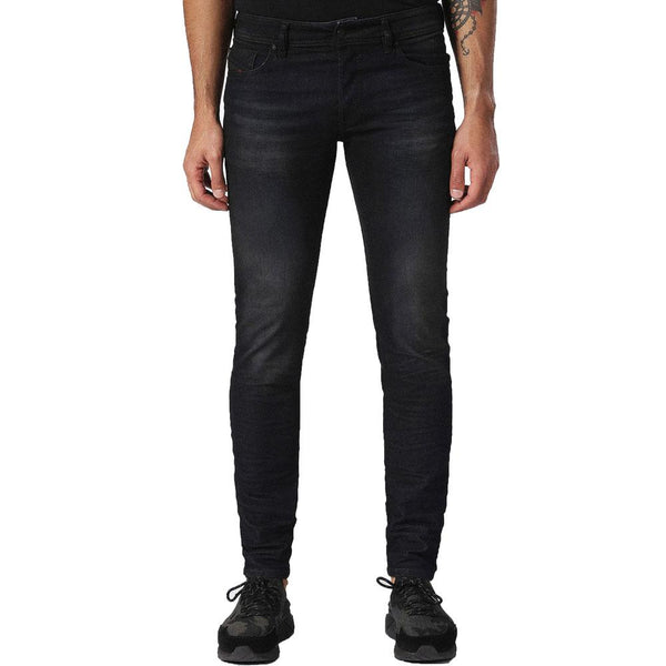 Diesel Sleenker 0842Q Skinny Stretch Jeans - Blue - so-ldn