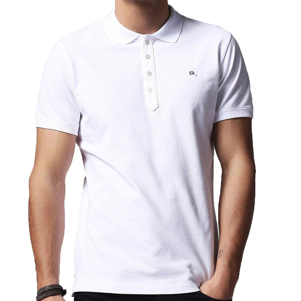 Diesel T-Heal Polo Shirt - White - so-ldn