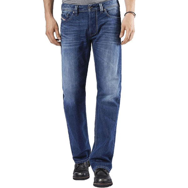 DIESEL Larkee 008XR Regular Jeans - Blue Wash - so-ldn
