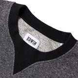 Edwin International Sweatshirt  - Black Marbled - so-ldn