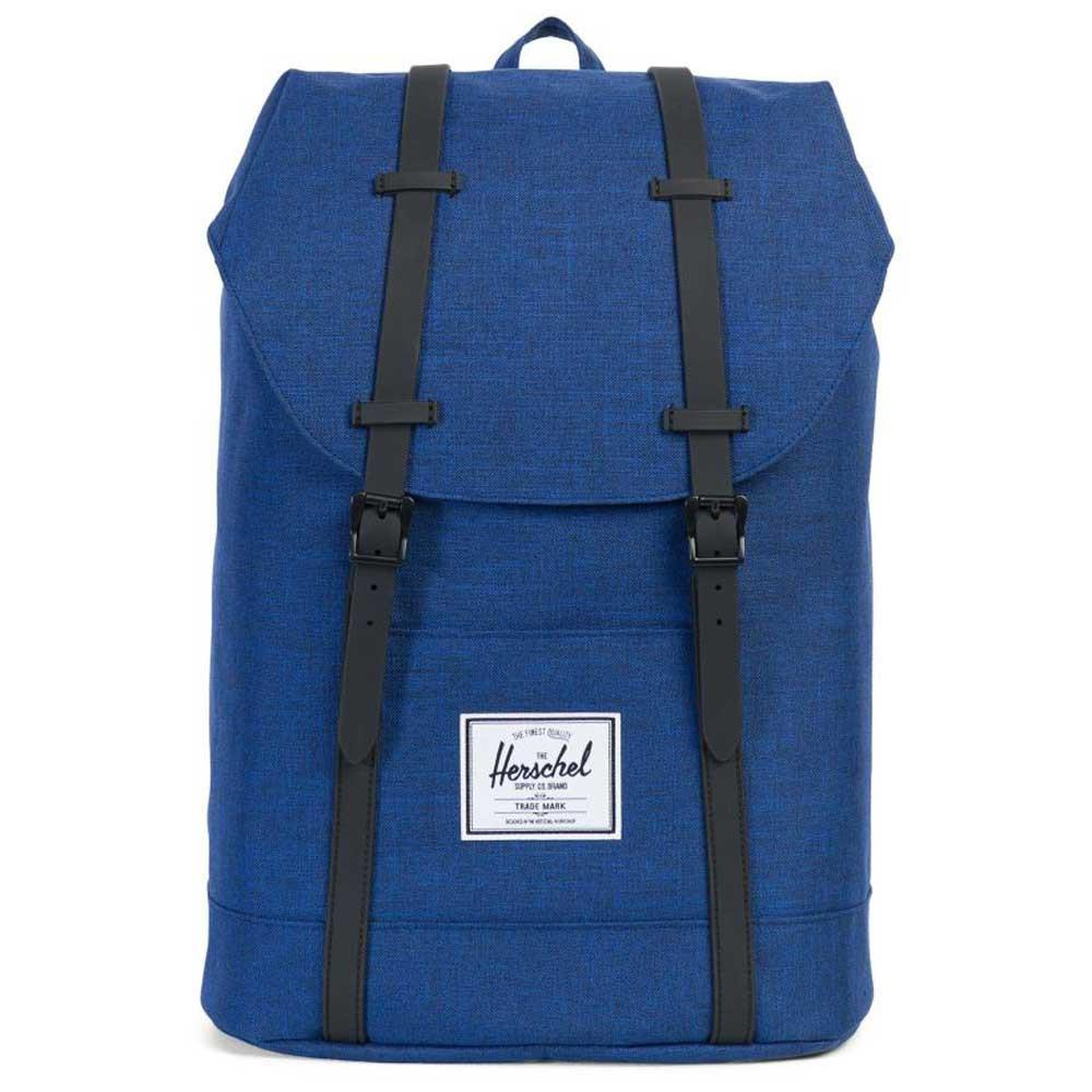 Herschel Supply Co. Retreat Laptop BackPack - Eclipse Crosshatch Blue - so-ldn