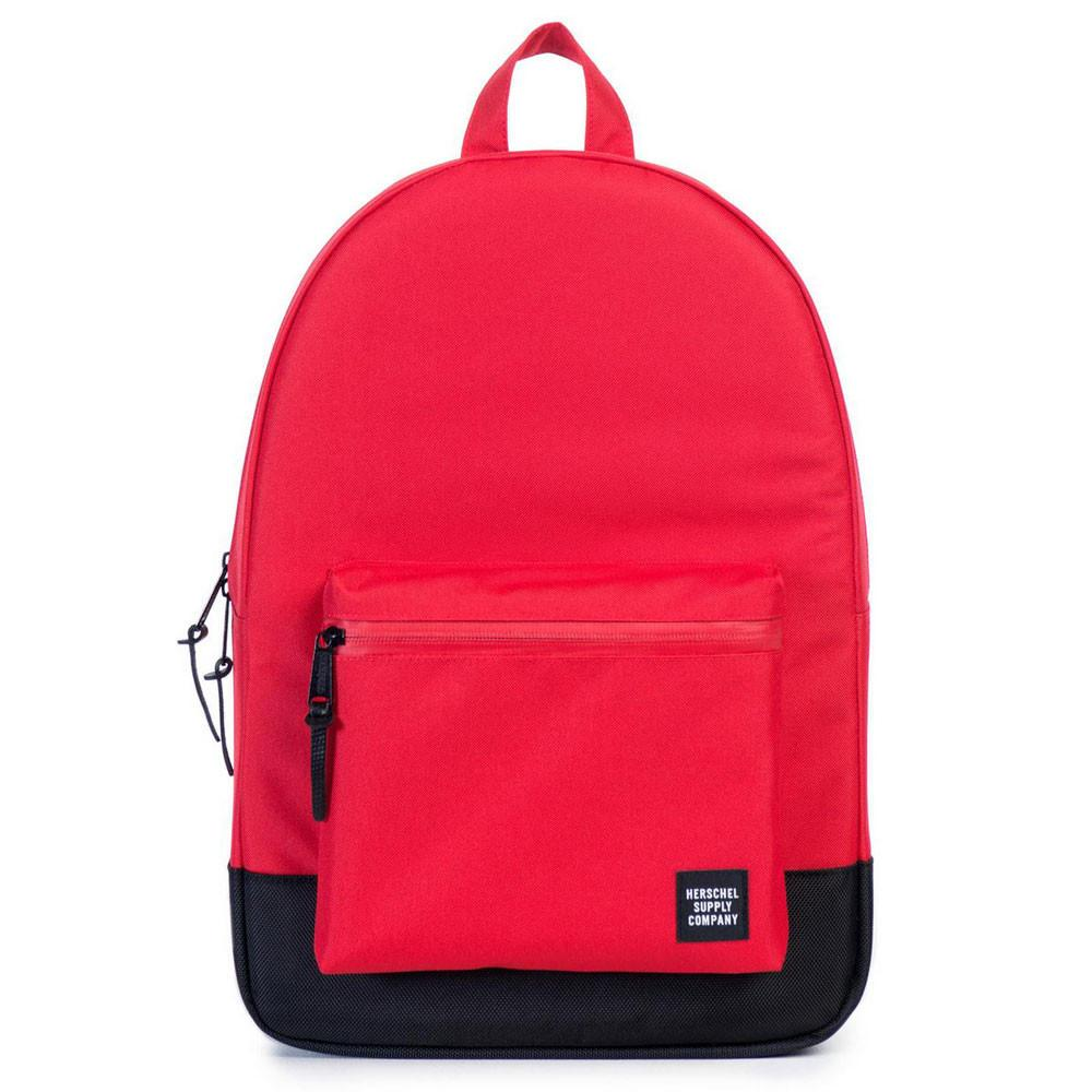 Herschel Supply Co Settlement Backpack - Red/Black Ballistic - so-ldn