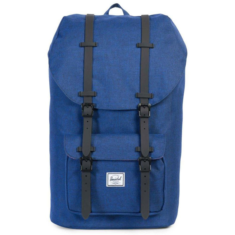 Herschel Supply Co. Little America Laptop BackPack - Eclipse Crosshatch Blue - so-ldn