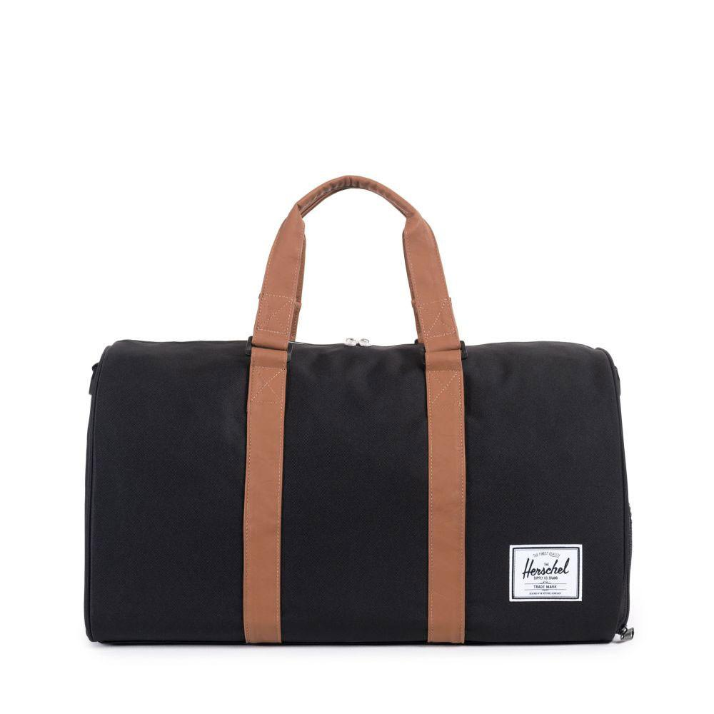 Herschel Supply Co. Novel duffel bag - Black / Tan - so-ldn