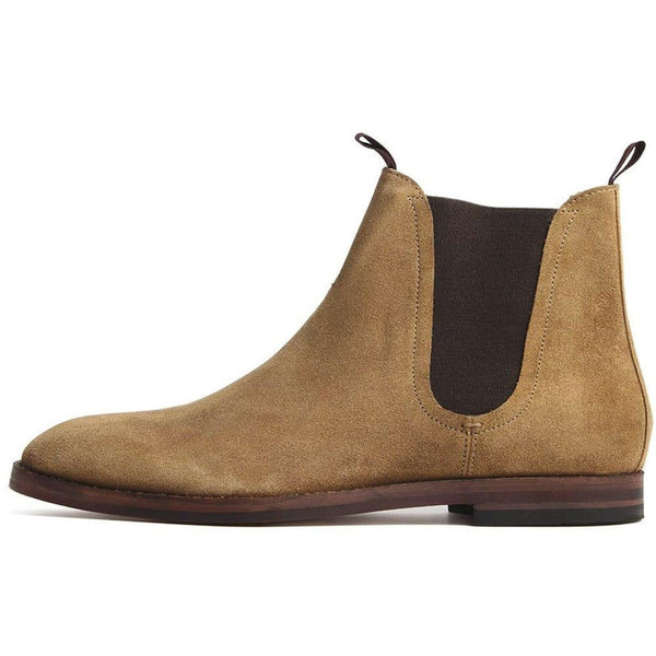 Hudson Shoes Tamper Chelsea Boot Suede - Sand - so-ldn