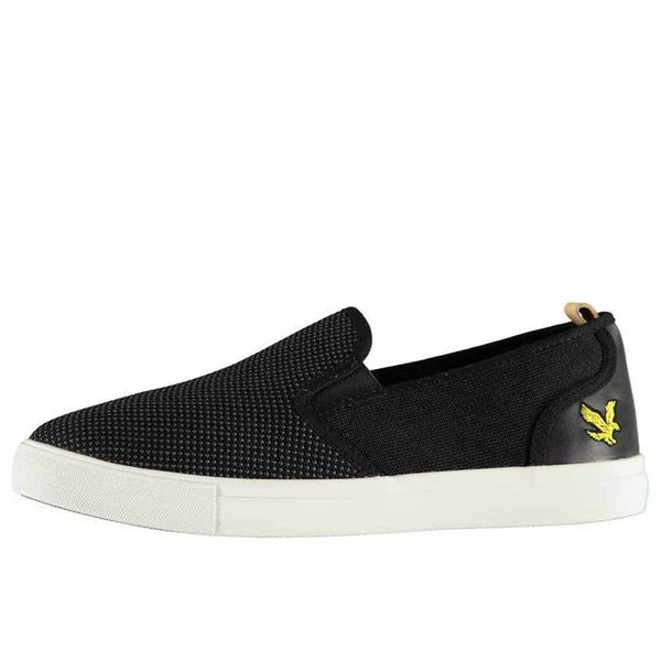 Lyle and Scott Matteo Shoe True Black - so-ldn