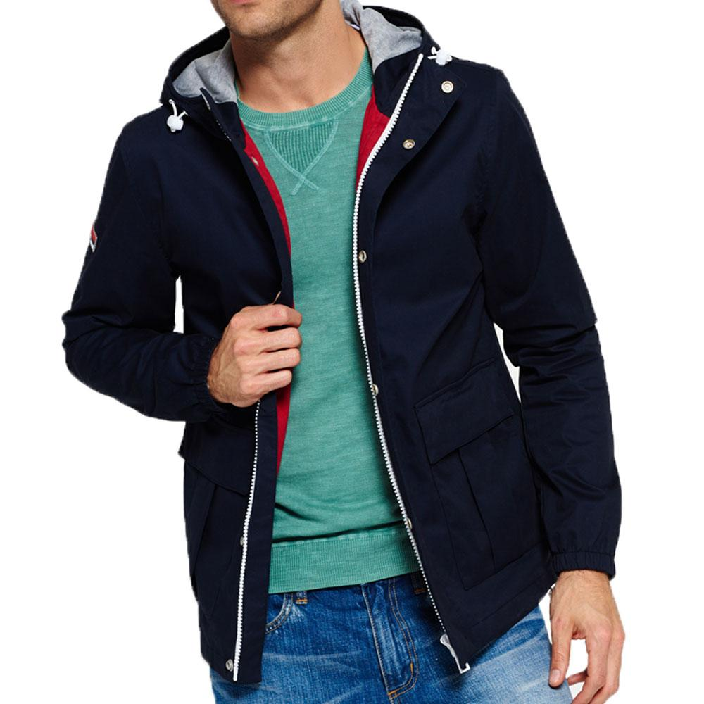Superdry New York Harbour Coat - Nautical Navy - so-ldn