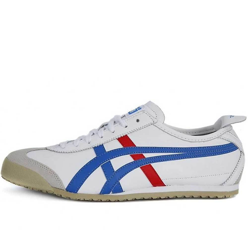 best loved 6401d 3bd9d Onitsuka Tiger Mexico 66 Trainers - White / Red / Blue