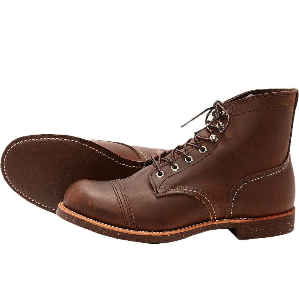 Red Wing Iron Ranger Boots 8111 - Brown - so-ldn