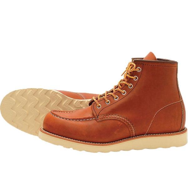 Red Wing 0875 Heritage Work Moc Toe Boot - Light Brown - so-ldn