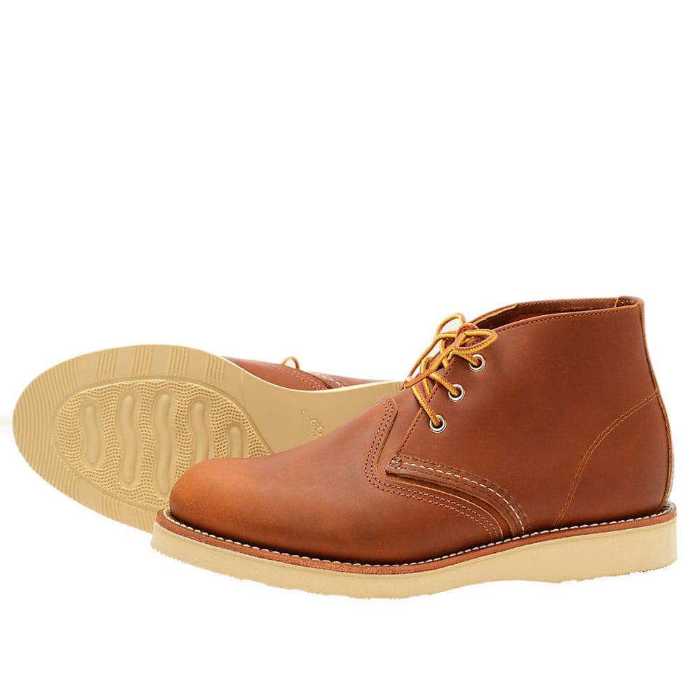 Red Wing Chukka Boot 3140 - Tan Brown - so-ldn