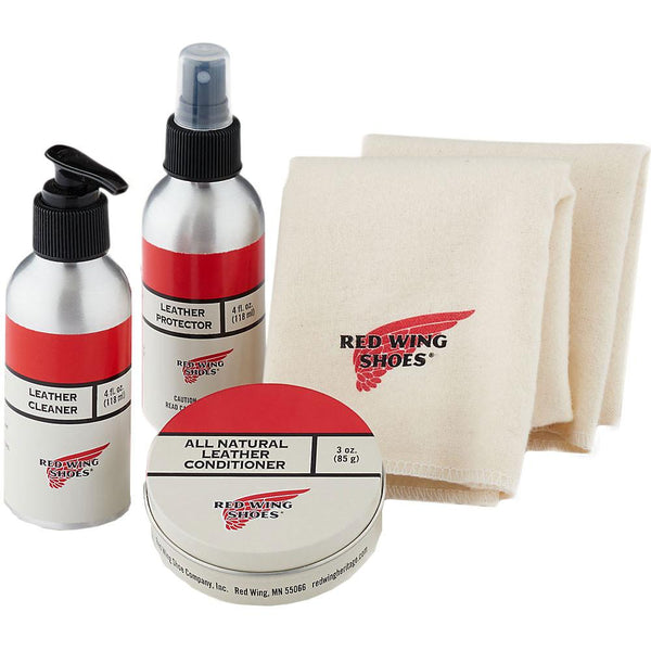 Red Wing Shoes Oil Tanned Leather Protective Care Kit - so-ldn