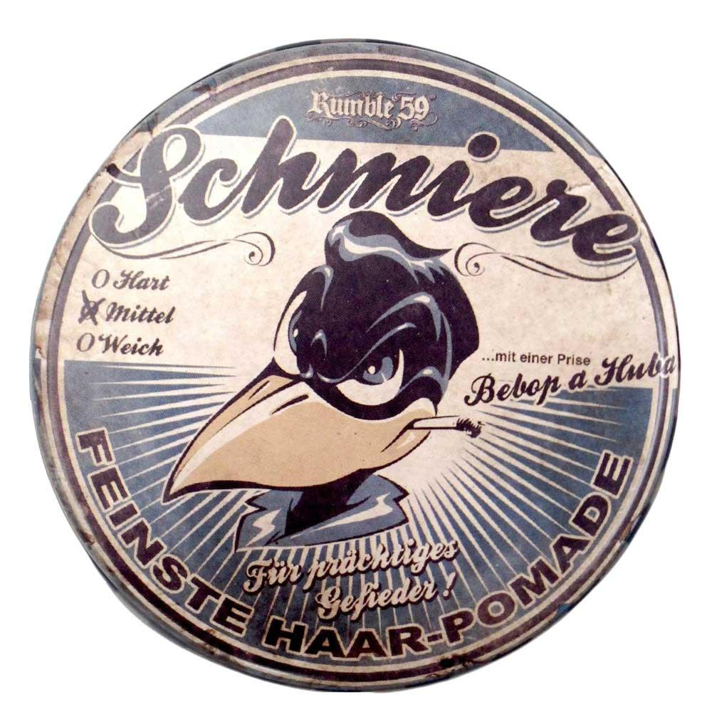 Rumble 59 Schmiere Be-Bop A Huba Medium Hair Pomade - so-ldn