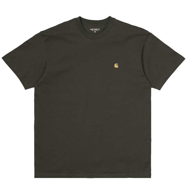 Carhartt WIP S/S Chase T-Shirt - Cypree Green / Gold