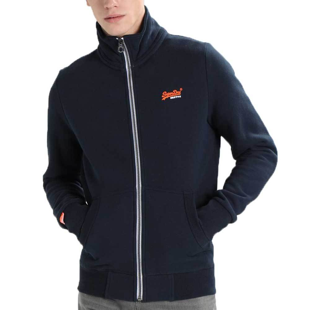 Superdry Orange Label Track Top  - Pitch Navy - so-ldn