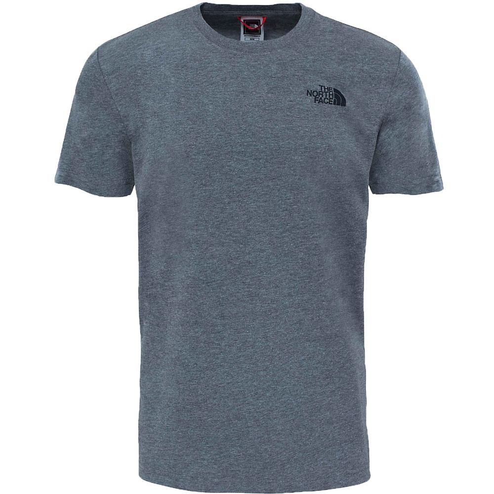 The North Face Red Box T-Shirt - Medium Grey Heather - so-ldn