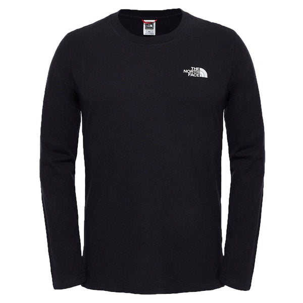 The North Face Long Sleeve Easy T-Shirt - Tnf Black - so-ldn