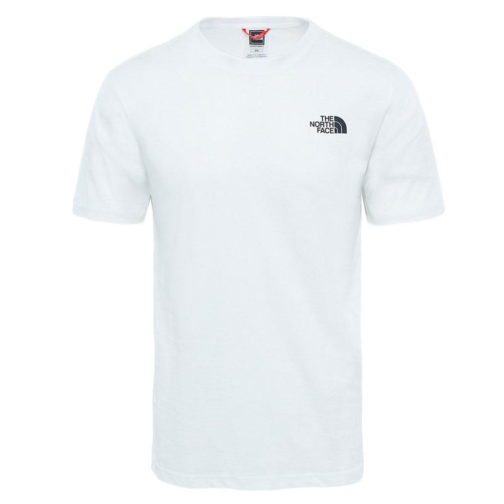 The North Face Red Box Crew Neck T-Shirt - White - so-ldn