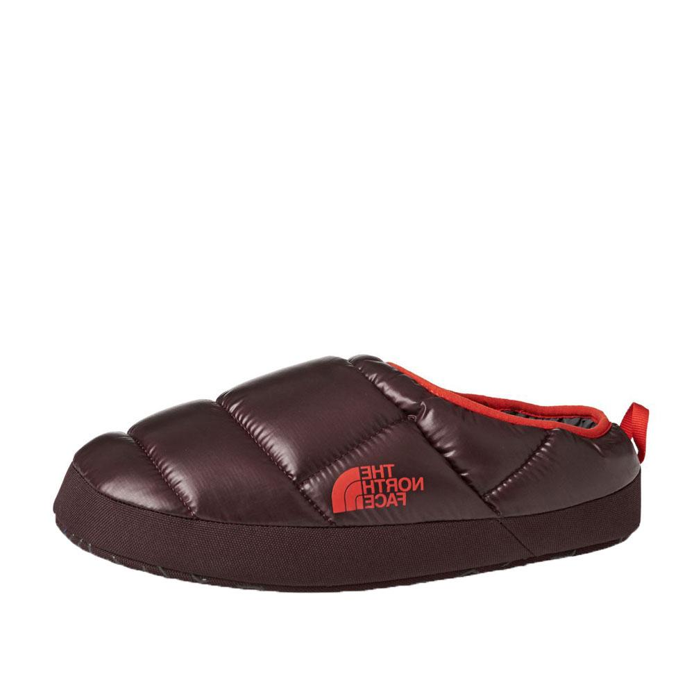 The North Face Nse Tent Mule Iii Slippers - Shiny Bitter Chocolate Brown/valencia Orange - so-ldn