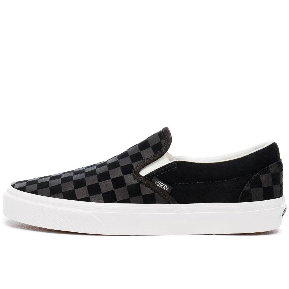 Vans Classic Slip On Checkerboard Embossed - Black - so-ldn