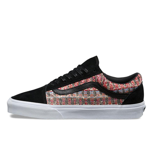 Vans Woven Old Skool DX Trainers Black - VAFT-8G36HV - so-ldn