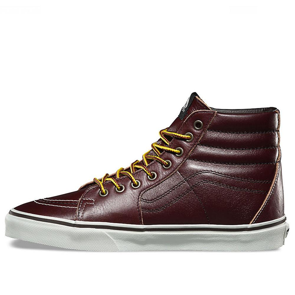 Vans Sk8 Hi Ground Breakers - Rum Raisin Brown VN0A38GEOE5 - so-ldn