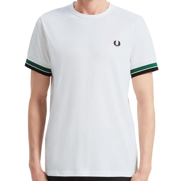 Fred Perry Bold Tipped T-Shirt -  White M7539