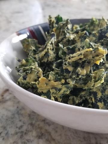 Spicy Thai Kale Chips