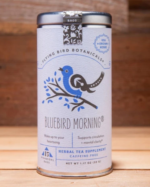 Bluebird Morning Organic Tea