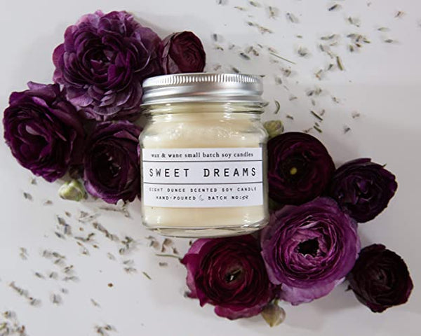 Sweet Dreams Lavender Soy Candle