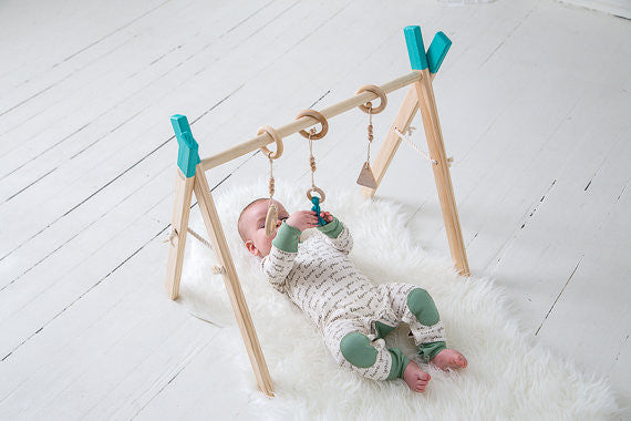 Wood Baby Gym