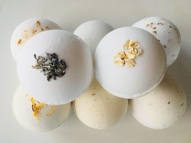 Plant-based Bath Bombs