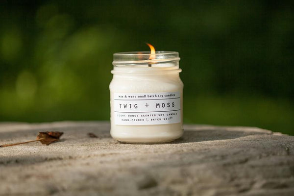 Twig & Moss Soy Candle